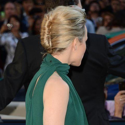 Rachel MC Adams mit French Twist Frisur