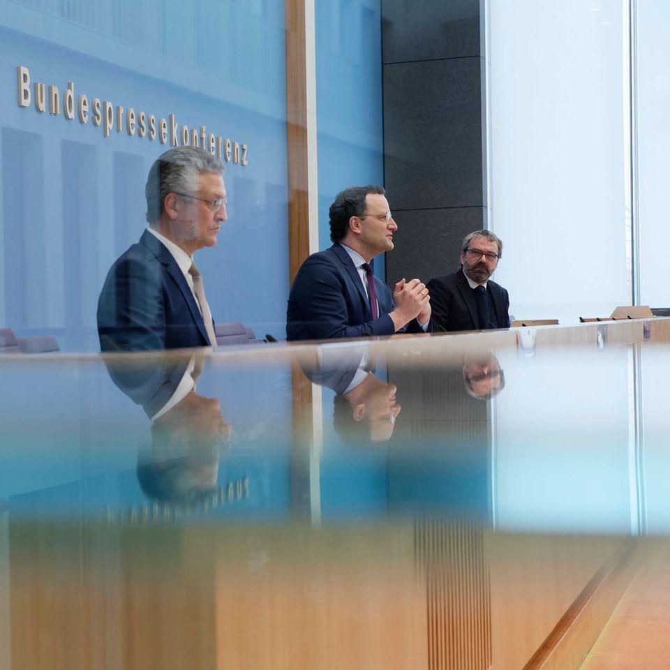 RKI-Chef erklärt Plateau in 7-Tages-Inzidenz: Bundespressekonferenz