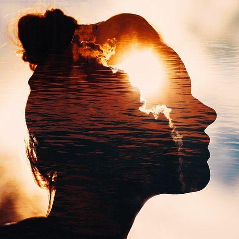 Die wichtigste Frage deines Lebens: Kopf einer Frau