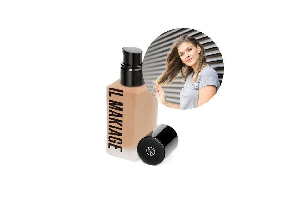 Beautyredakteurin Friederike hat sogar online die perfekte Farbe der Woke up like this Foundation von Il Makiage gefunden.