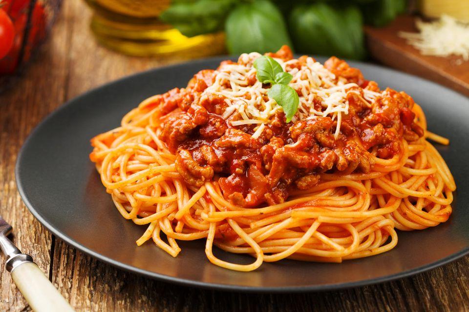 Geheimzutat Bolognese: Spaghetti Bolognese