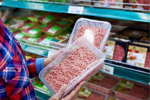 Rückruf: Hackfleisch im Supermarkt