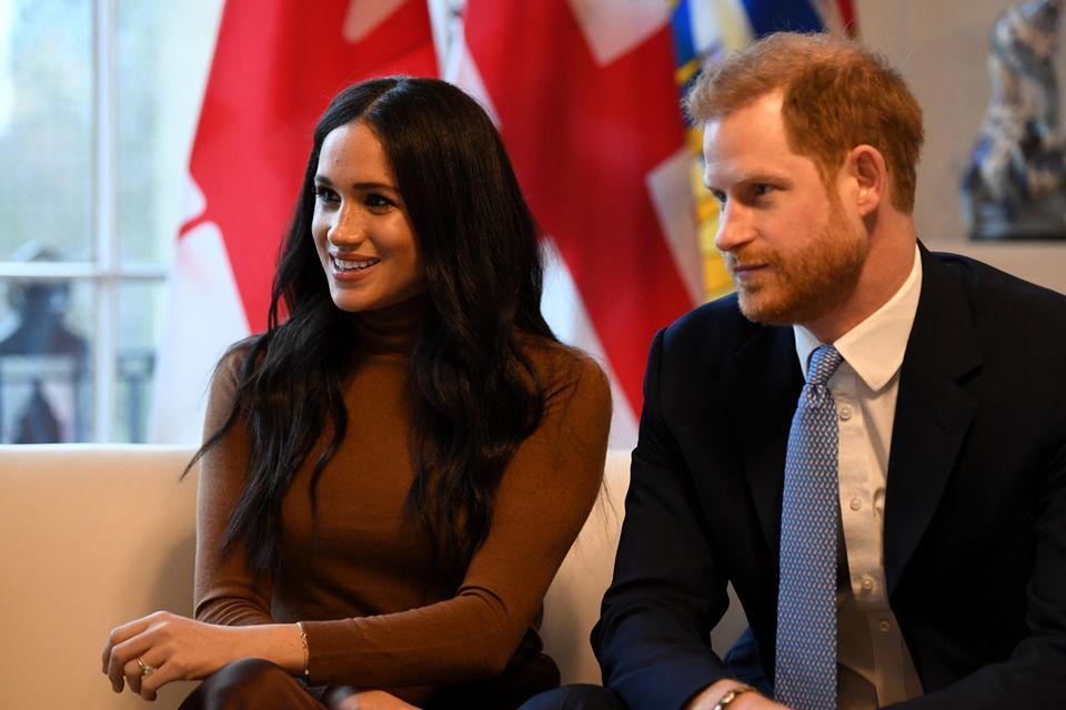 Meghan und Harry: Erster Blick auf das Oprah-Interview