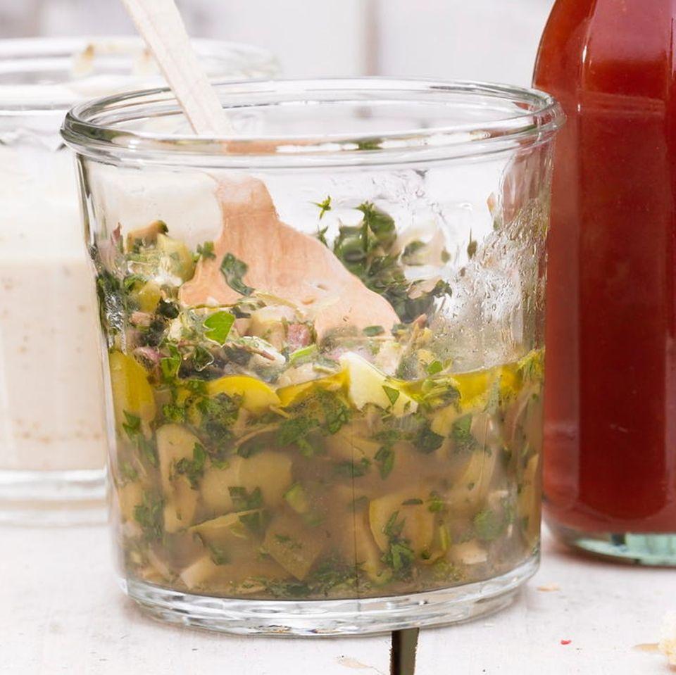 Chimichurri mit Oliven