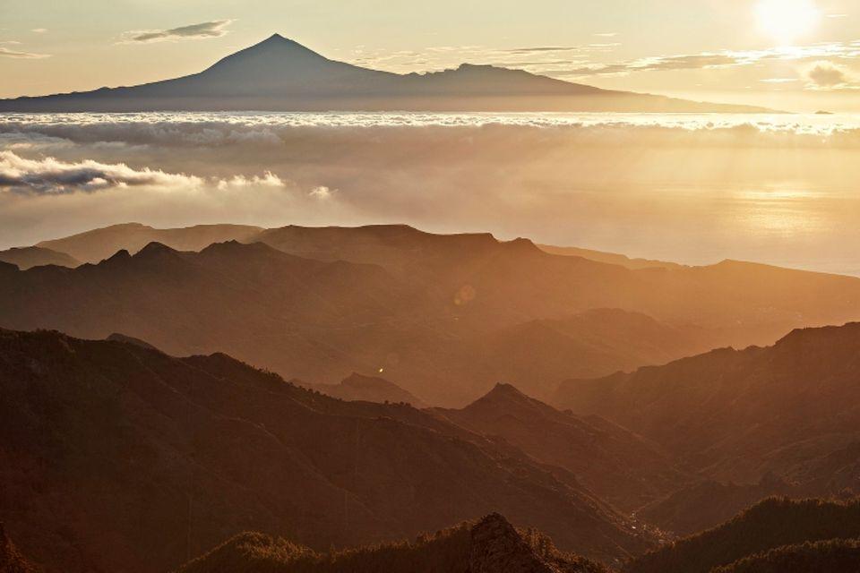 La Gomera: Blick über die Insel