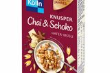 Food News: Kölln Knusper Chai & Schoko Hafer-Müsli