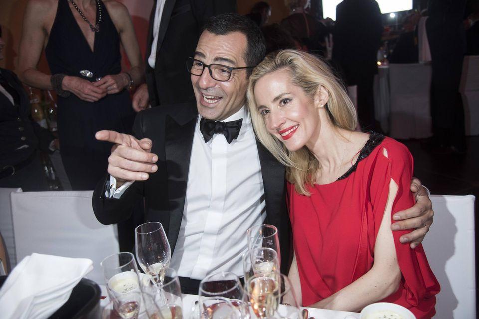 Erol Sander und Caroline Goddet