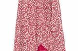 Am 20. März ist Frühlingsanfang und ich habe schon das perfekte It-Piece gefunden, um diesen Tag zu zelebrieren. Der rot-rosa gemusterte Rock mit Volant-Borde und Blümchen-Muster ist mein absoluterFavorit, um die schöne Jahreszeit willkommen zu heißen. Von Rails, kostet ca. 160 Euro  Jessica, Mode- und Beautyredakteurin