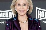 """Jane Fonda  Sie ist die Fitness-Ikone der 80er- und 90er gewesen, hat aber unter dem damaligen Körperbild der 50er-Jahre gelitten: """"Mein Vater gab mir das Gefühl, ich wäre fett."""" Doch der Sport habe sie aus dem Sumpf der Magersucht und Bulimie geholt, wie sie 2014 in einem """"Elle""""-Interview erzählt."""