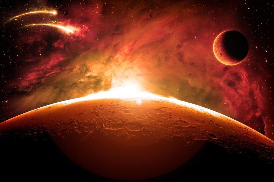 Horoskop: Der Planet Mars