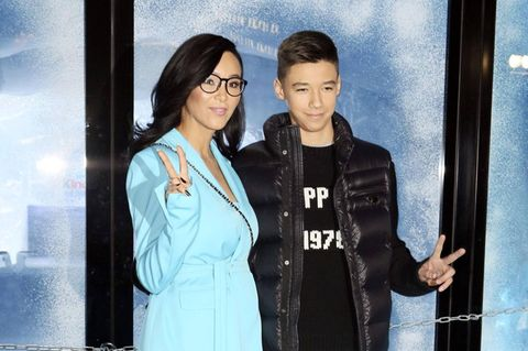 Verona Pooth und ihr Sohn San Diego