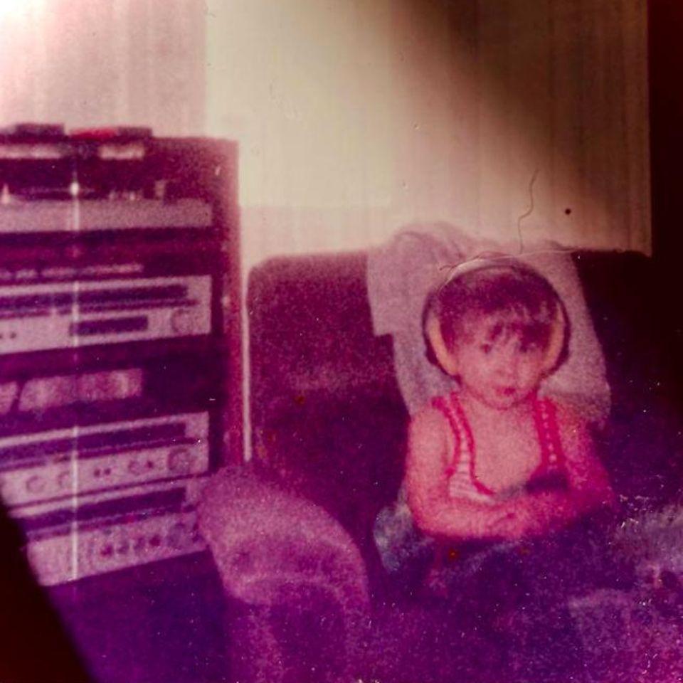 Kerstin Ott vor 35 Jahren