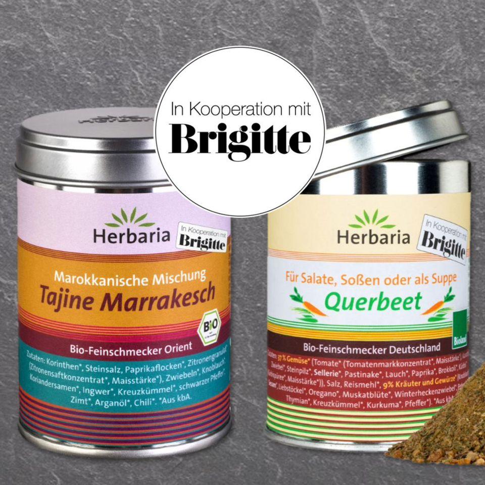 BRIGITTE x Herbaria: Gewürze für Bio-Feinschmecker