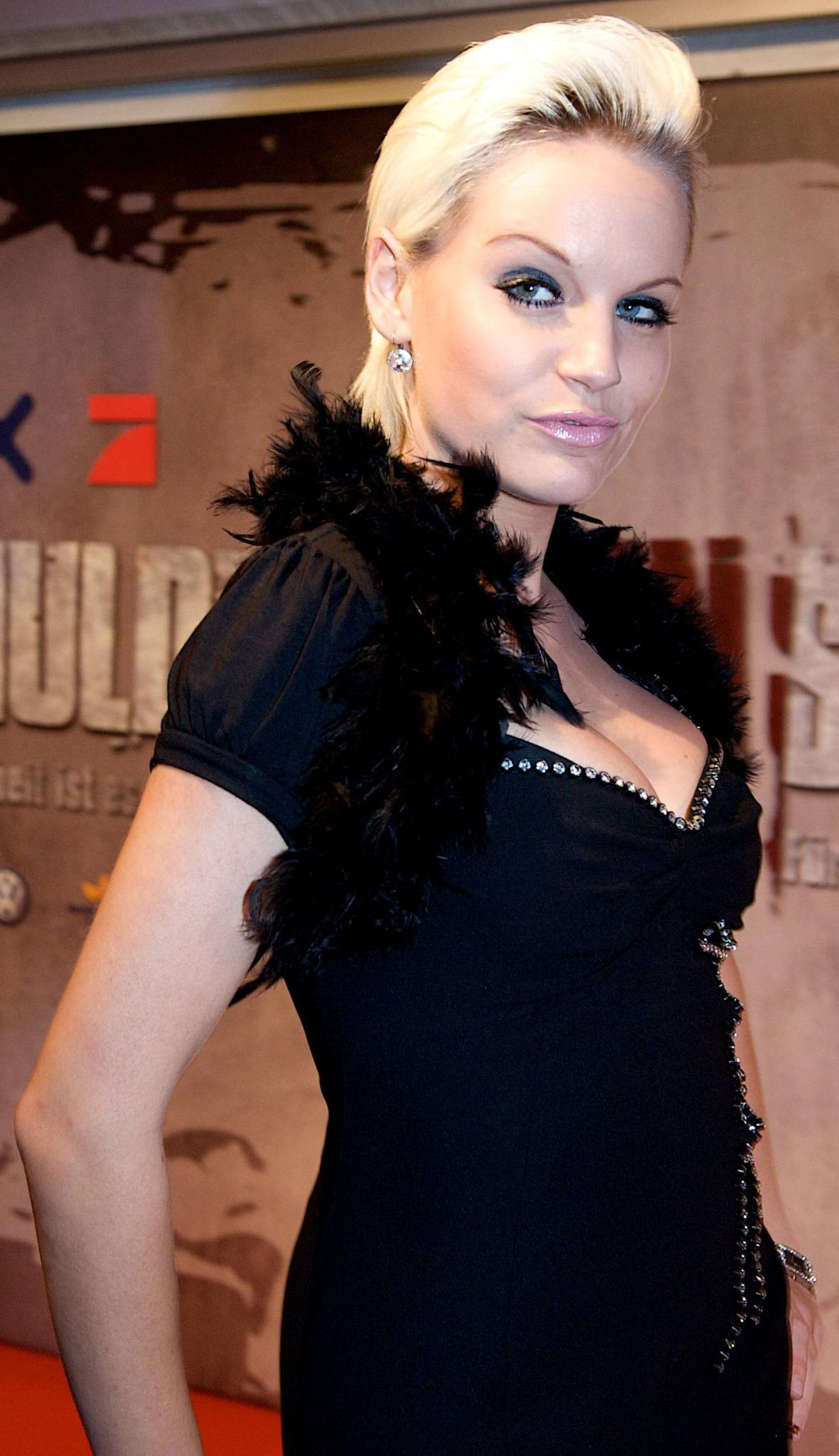 GNTM: Gina-Lisa Lohfink mit kurzen Haaren