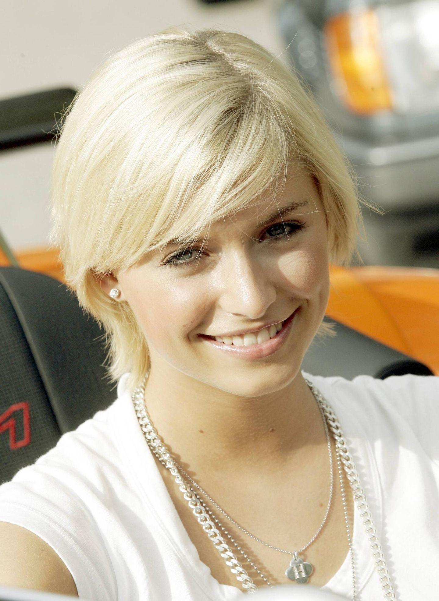 GNTM: Lena Gercke mit kurzen Haaren