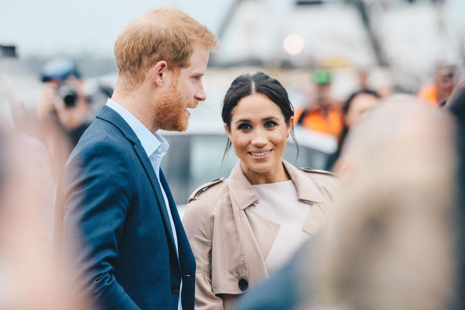 Britisches Königshaus: Harry und Meghan in Auckland