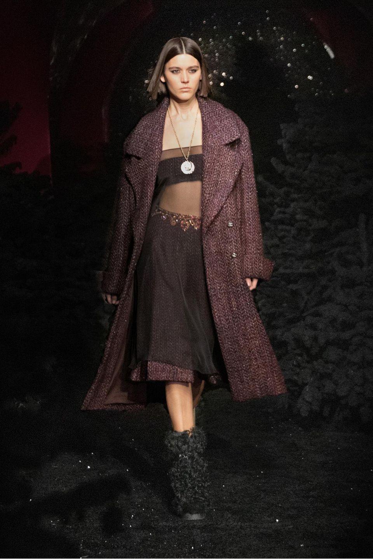 Runway-Show Herbst/Winter 2021/22 Chanel