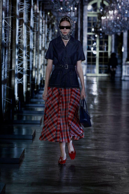 Runway-Show Herbst/ Winter 2021/22 Christian Dior