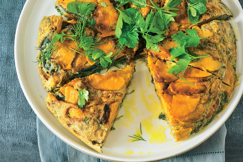 Lieblingsrezepte der Woche: Süßkartoffel-Tortilla mit Manchego-Käse