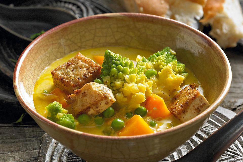 Gemüse-Curry mit Tofu