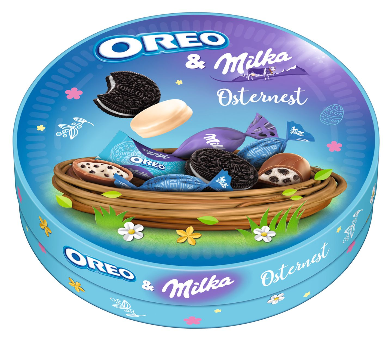 Osternest OREO & Milka