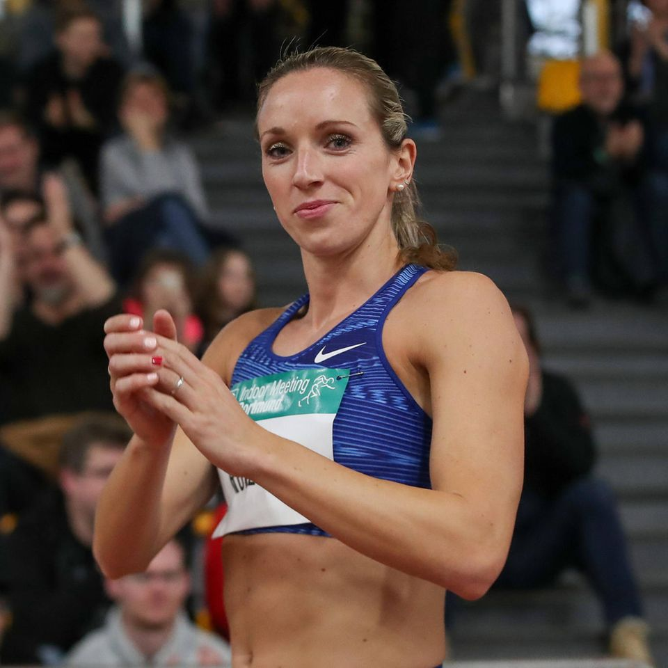 Ein Baby unter Zeitdruck: Sprinterin Cindy Roleder
