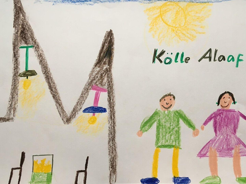 Kinder malen: Kölle Alaaf