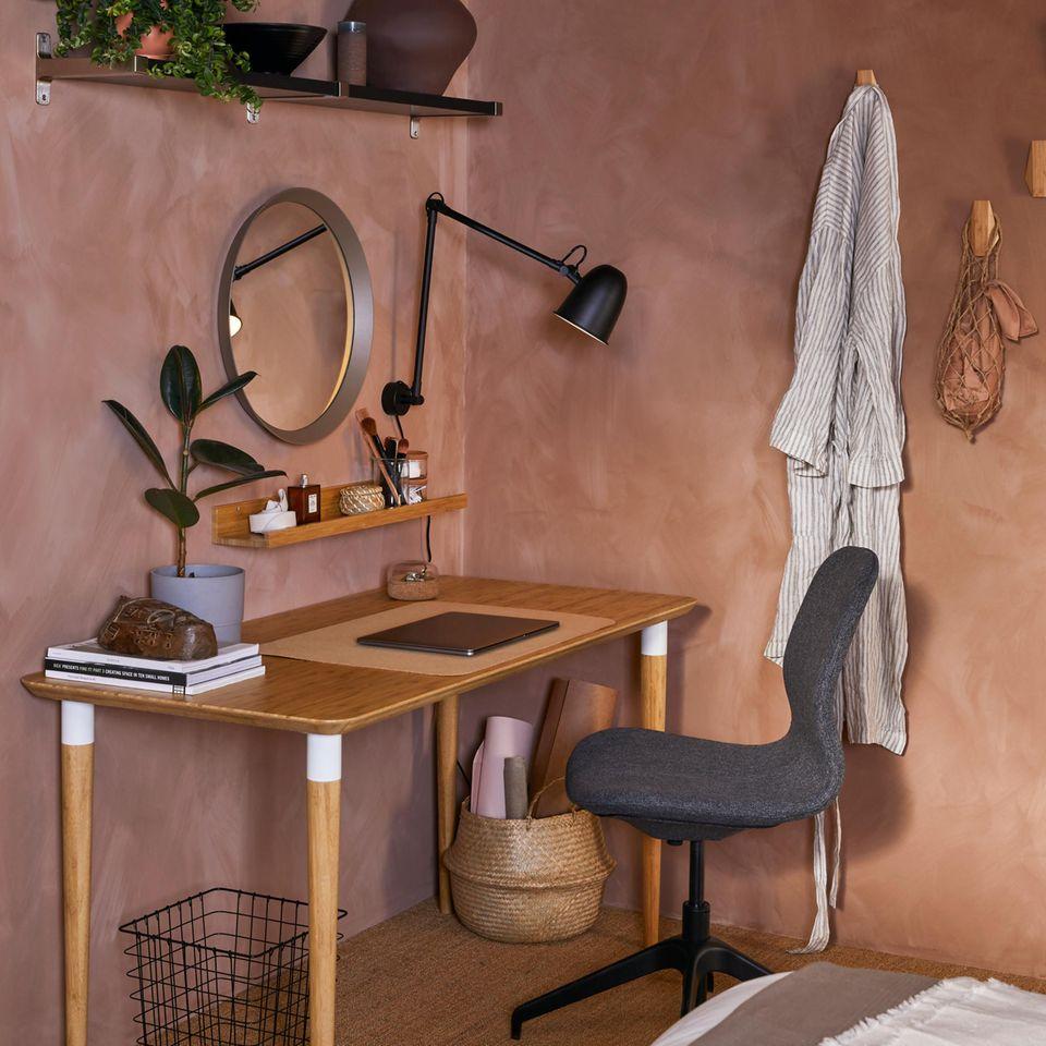 Ikea HILVER Bambus Tisch