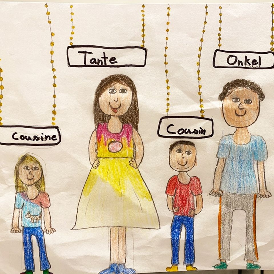 Wann sehe ich dich wieder?: Kinder malen Bilder von Menschen, die sie vermissen