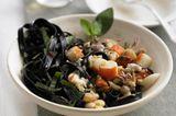 Schwarze Tagliatelle mit Frutti di mare