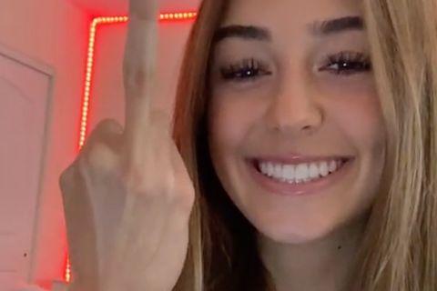 Längster Mittelfinger