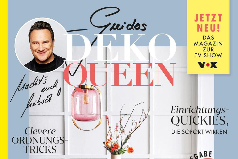 Ab dem 18. März gibt es Guidos Deko Queen am Zeitschriftenstand eures Vertrauens.