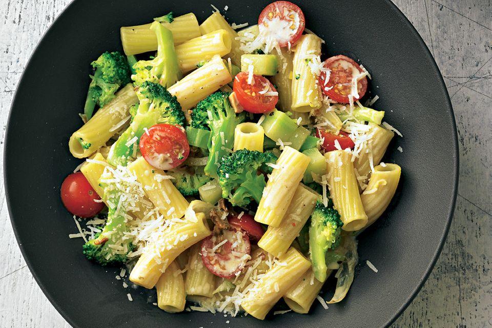 Brokkoli-Zitronen-Pasta