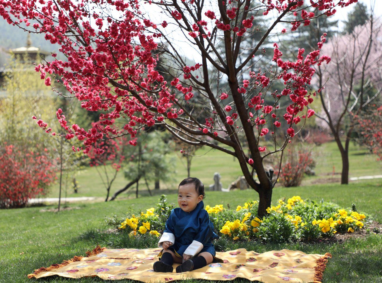 Bhutan-Royals: Prinz Ugyen feiert ersten Geburtstag