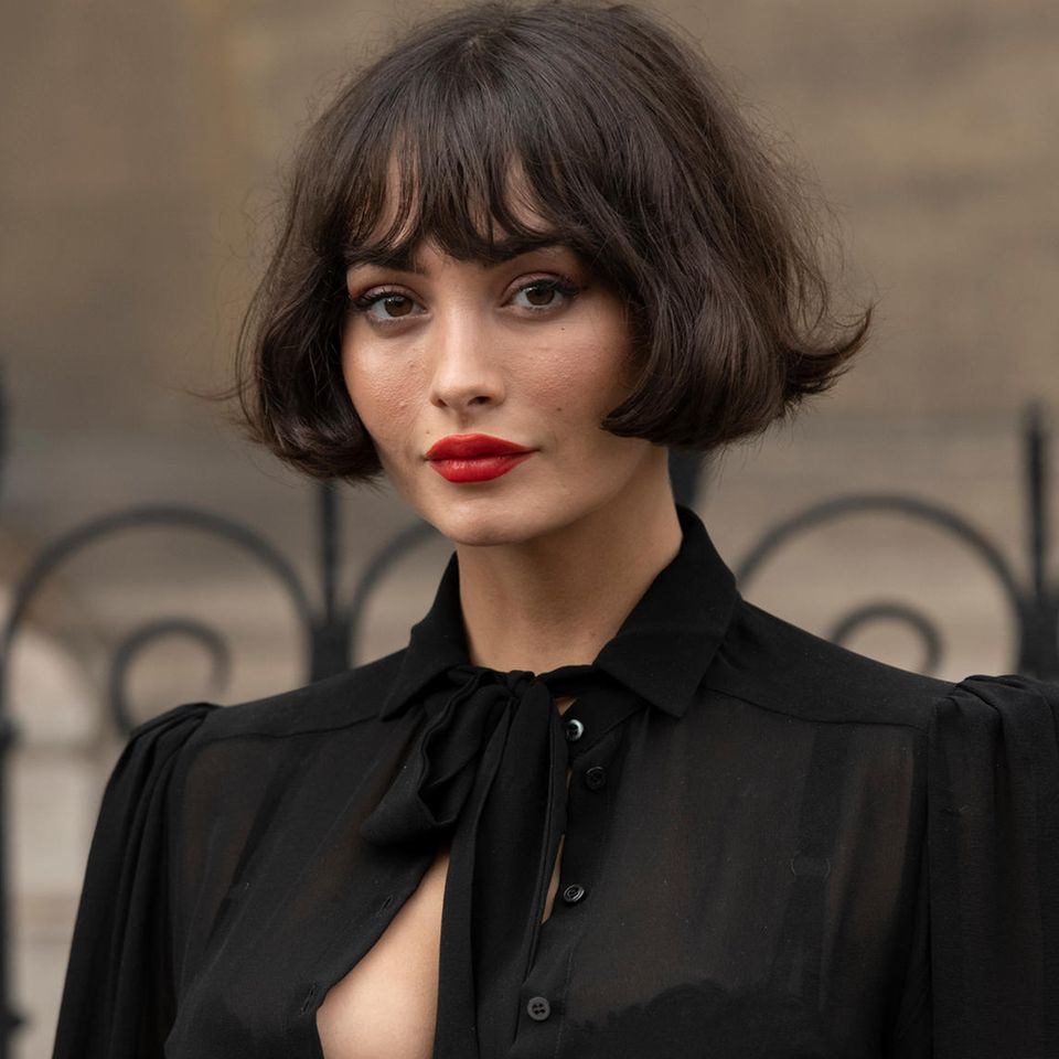 Frisuren-Trend: Diesen Look lieben 2021 nicht nur die Französinnen