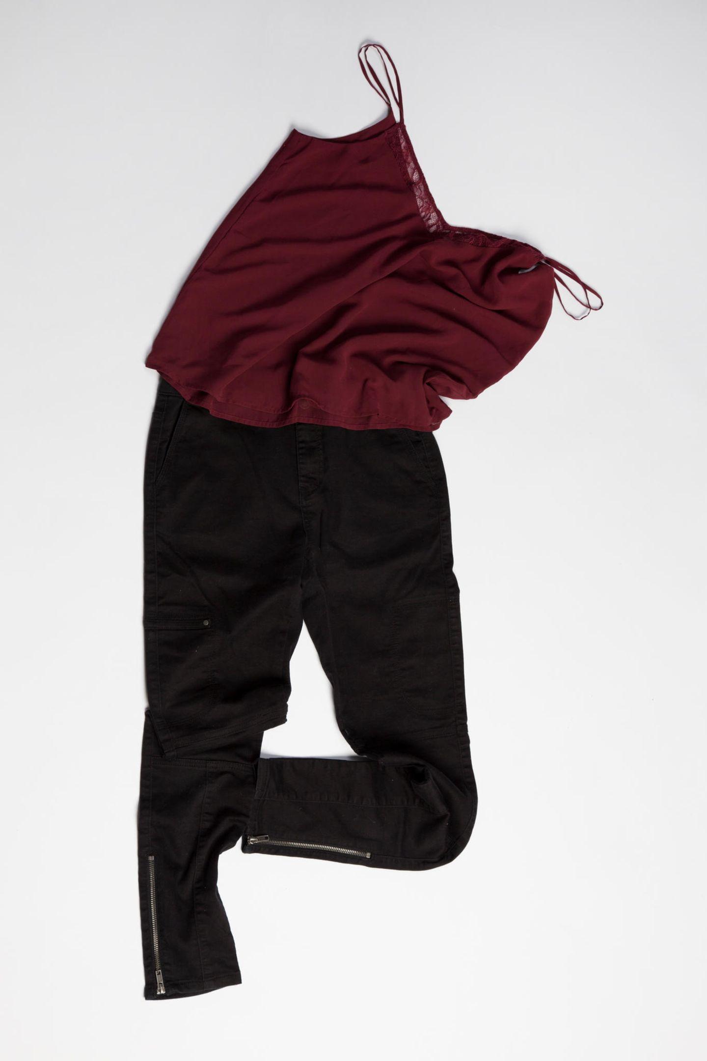 Ausstellung: Top und Hose