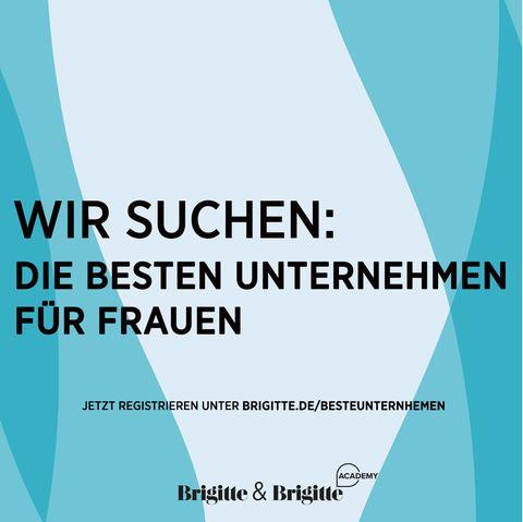 """Wanted: """"Wir suchen: Die besten Unternehmen für Frauen"""""""