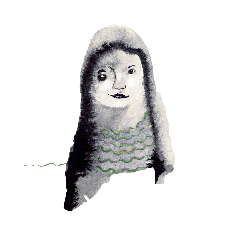 Illustration Sternzeichen Jungfrau