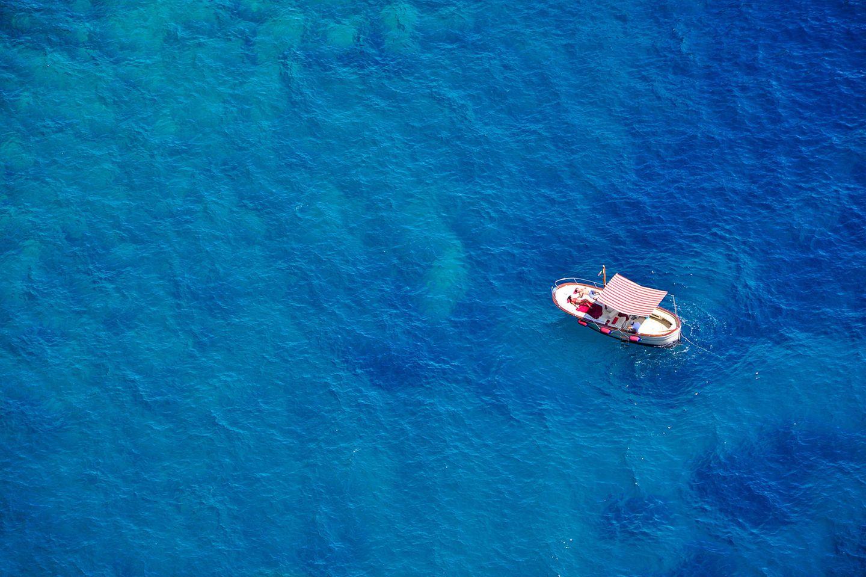Katamaran Meer wegträumen