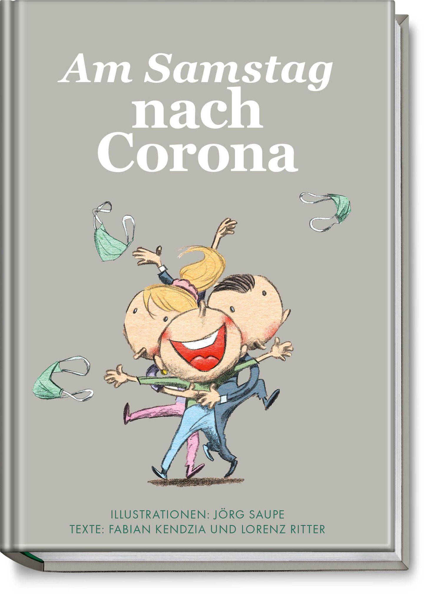 Am Samstag nach Corona: Buchcover