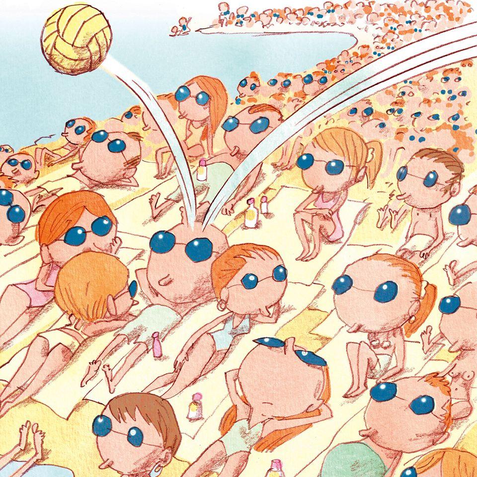 Am Samstag nach Corona: Illustration