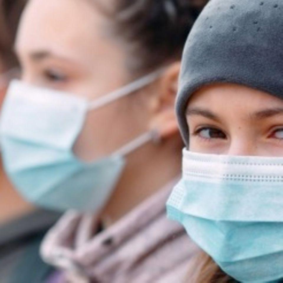 PIMS: Kinder mit Maske