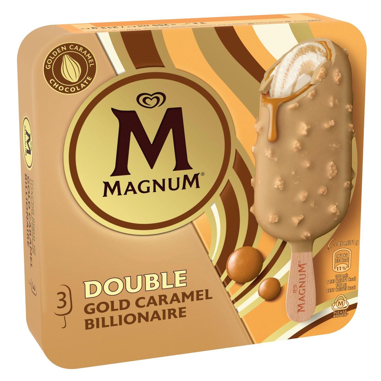 Food News: Magnum Double Gold Caramel Billionaire
