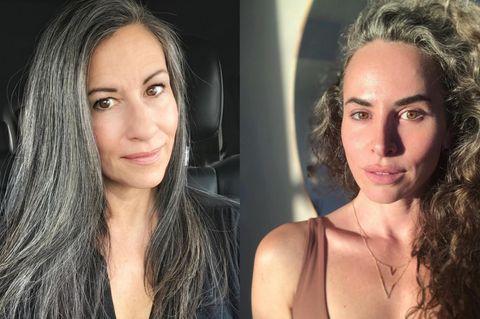 Salz und Pfeffer Haar
