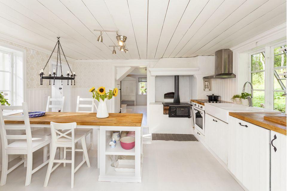 Esszimmer Deko: Küche im Landhausstil