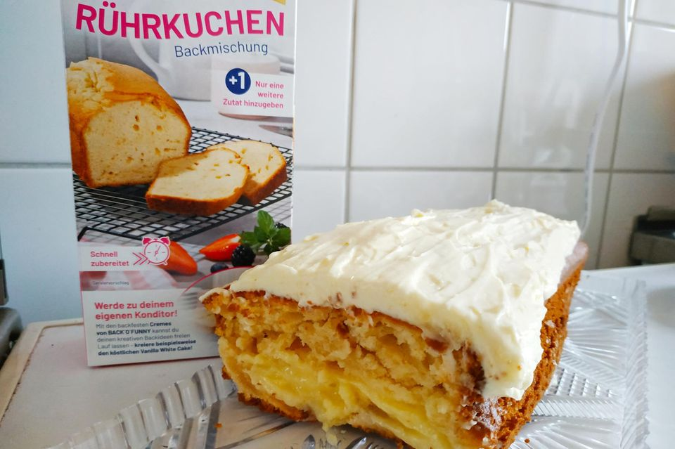 BACK`O´FUNNY: Vanilla White Cake