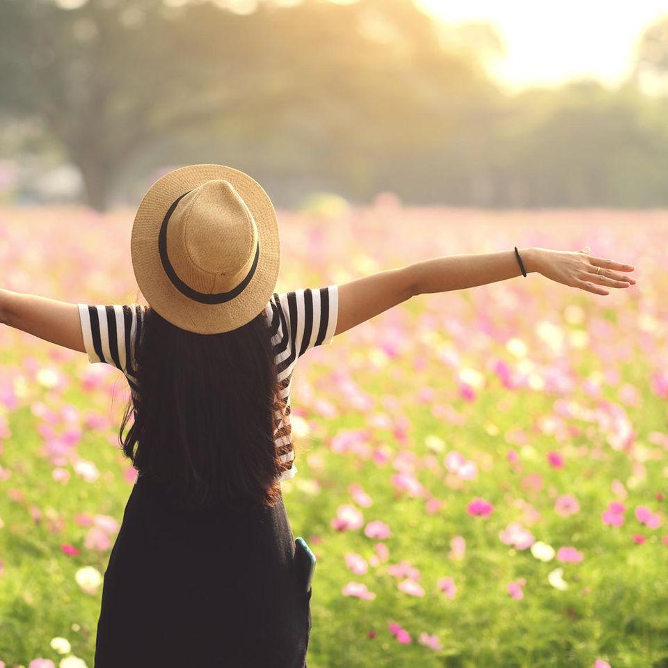 Horoskop: Eine beflügelte Frau