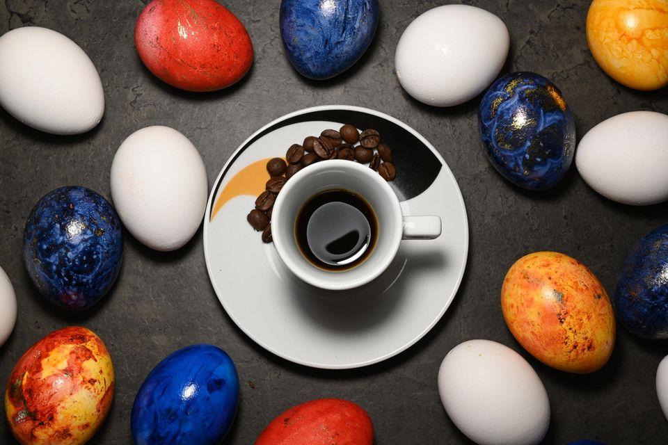 Eier-Kaffee