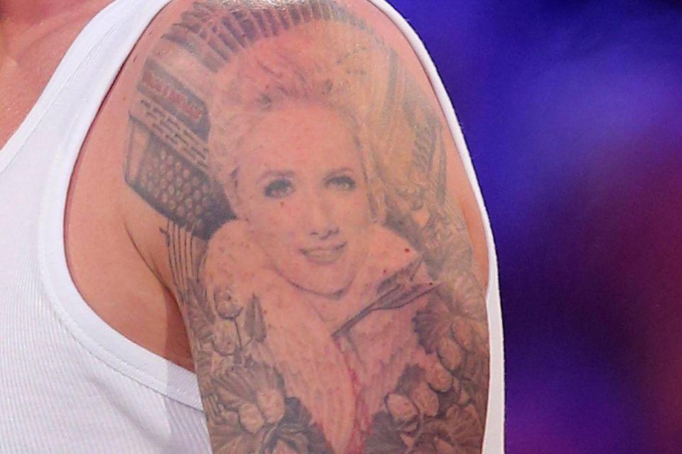 Florian Silbereisens Helene-Fischer-Tattoo