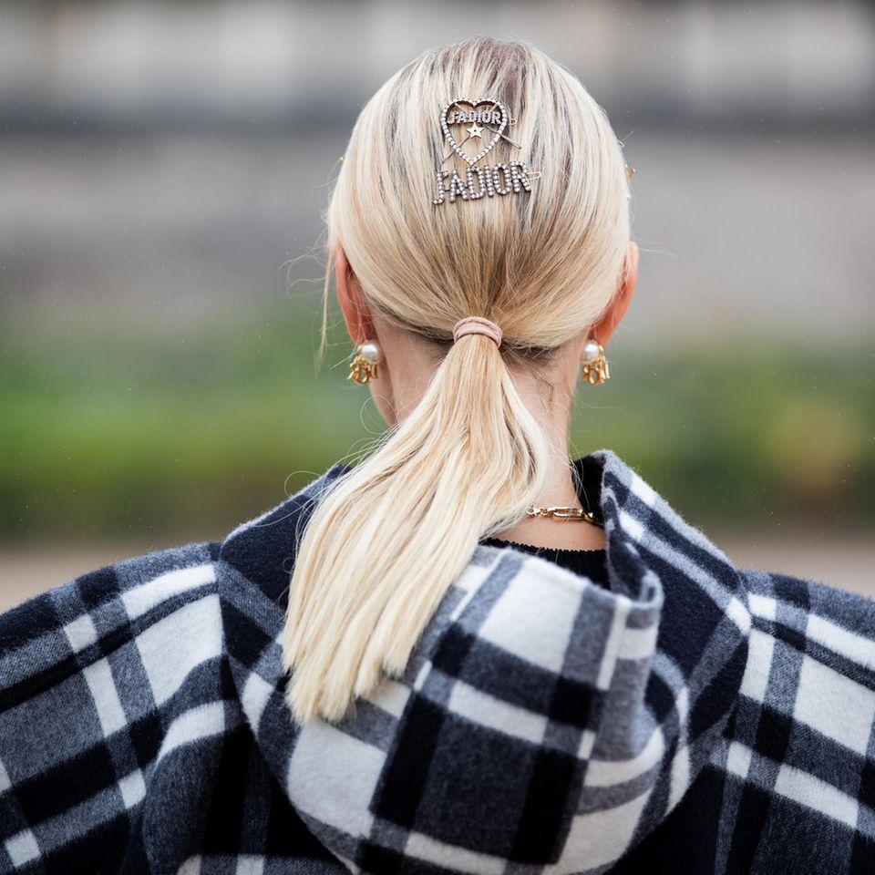 Pferdeschwanz Haartrend 2021